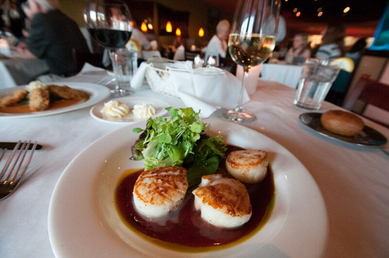 south beach grille scallops